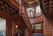 stairs / stair hall