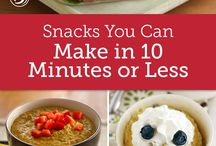 Healthy Snacks / Healthy easy simple snack recipes for you AND your kids