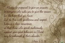 Bible Verses / Bible verses