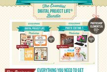 Digi Project Life / by Stephanie Evans