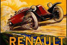 Renault affiche/poster