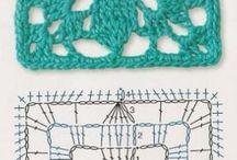 Crochet cuadrados