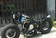 Bobber motorcykel