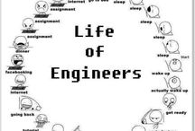 Life of an engineer / Engineers can feel the pain.