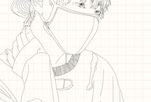 V drawing