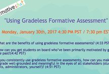 #formativechat topics and questions / #formativechat is our weekly Twitter chat. It's every Monday (4:30-5:00 PM PST)! We discuss formative assessment, teaching, and all other related topics (ex: growth mindset, standards-based learning, student voice...)