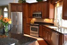 Dark Wood Cabinet Kitchen Remodel / Dark Wood Cabinet Kitchen Remodel Project We Did In Southwest Florida.  / by Cornerstone Builders