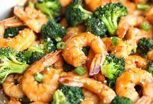 receita com frutos do mar