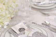 Silver wedding inspiration / Silver wedding inspiration
