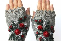 gloves crochet