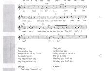 engels liedjes