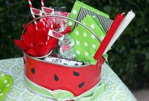 Summertime/BBQ Party  / Ideas for a backyard bbq or picnic themed party / by Giggles Galore