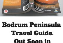 Travel Guide Book Cover Design / While working on the Paperback version of my Bodrum Travel Guide, I went to the bookshop to research cover design of some of the major travel guides. There's no reason to reinvent the wheel when other's have a tried and tested formula.