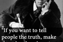 Oscar Wilde Quotes / by Florina Iacob