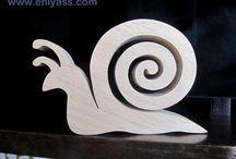 Sculpture bois animaux