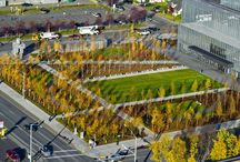 Anchorage Museum Common / WERK | Charles Anderson Landscape Architecture