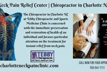 Neck Pain Relief Center | Chiropractor in charlotte NC