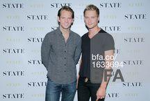 Thomas Pierce and Model Andrew Churchill