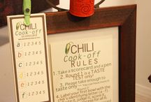 Chili cook off ideas / by Peggy McMurray