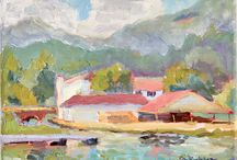 Lake Lure Paintings