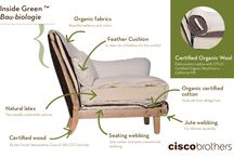 Organic Upholstery / Using sustainable, earth-friendly, non-toxic materials in upholstered furniture