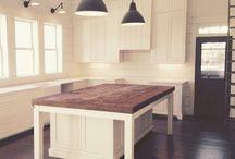 Island Kitchen bench