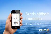 På Sjön-appen / Eniros båtapp På Sjön är framröstad som Sveriges bästa nyttoapp. Appen har bland annat svenska och norska sjökort, GPS-position, väder och självklart Eniros söktjänst. Med den har du koll på var du kan köpa glass, tanka, äta en bit eller köpa en propeller om olyckan är framme. Och så är den gratis. Kasta loss! iOS: http://bit.ly/EniroPaSjon Android: http://bit.ly/AndroidPaSjon