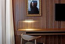 London hotel wood