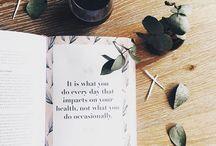 health & beauty // inspiration