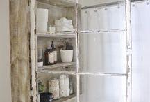 Organização banheiro