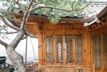 Hanok / Korean traditional house, hanok, and ideas for a modern twist.