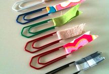 paperclips and planner accessories