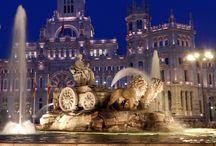 Madrid de Noche / Me gusta su ambiente