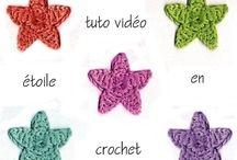 Étoiles au crochet