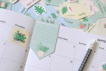 Organisation / Printables