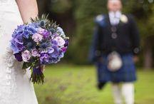 Eryngium wedding flowers