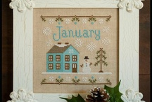 monthly cottage calendar
