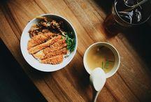 food photography ; ramen , katsu / hari saya memotret makanan favorit saya dari jepang