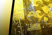 Vitrail de fronton / Vitrail de fronton triangulaire.Création abstraite, contemporaine et intemporelle http://www.siebering.com/?p=7846