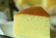 Sponge cake recepies