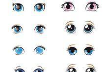 molde olhos