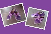 Zapatos pintados a mano / Zapatos swing personalizados por 10€ + zapatos 10€.