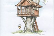 Build a Treehouse This Year / Who doesn't want a backyard getaway? Call it a man cave, a lady haven, or the perfect place for your kids, you too can build your own backyard shed or treehouse. David and Jeanie Stiles break it down, make it easy, and help you make your dream come to life.