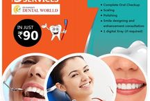 Dental Services / Get a brighter smile with the best in class dental services in Chandigarh with amazing discounts from 40deals.