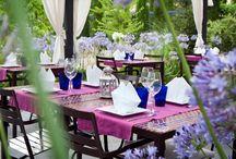 Restaurantes con encanto / Ideales restaurantes para celebrar todo tipo de eventos: bodas, bautizos, comuniones, cumpleaños...