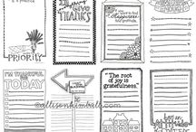 Journaling Cards and Prompts