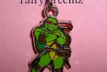 Ninja turtle belly button rings / by Carissa Warr