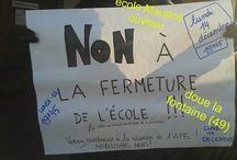 """école doué la fontaine """"Maurice Duveau"""""""