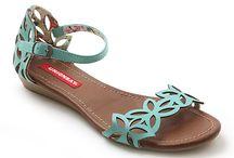 flats, sandals