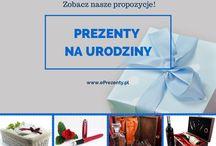 Prezenty na urodziny / Szukacie pomysłu na prezent z okazji urodzin dla bliskiej osoby? Zapraszamy na stronę:  https://eprezenty.pl/prezent_na_urodziny,c,3492